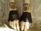 Steampunk cuffs