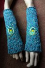 Knitted armwarmers