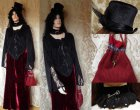 Steampunk ladies clothing set PCV11